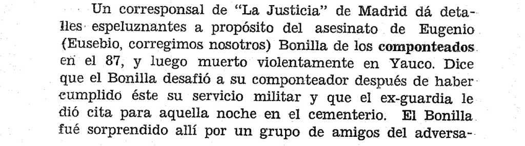 La Justicia, 11/6/1890