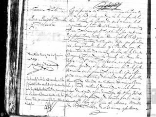 Death record of Juan Eusebio Bonilla Salcedo